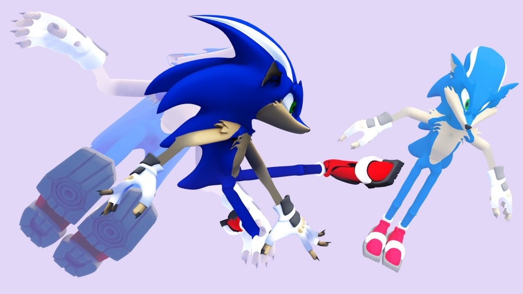 Not Sonic the Hedgehog