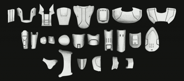 Sith Trooper Armor Molds